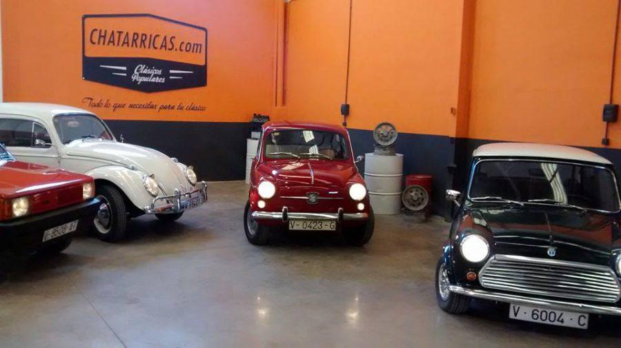 chatarricas, recambio coche clásico, accesorios coche cláscio,