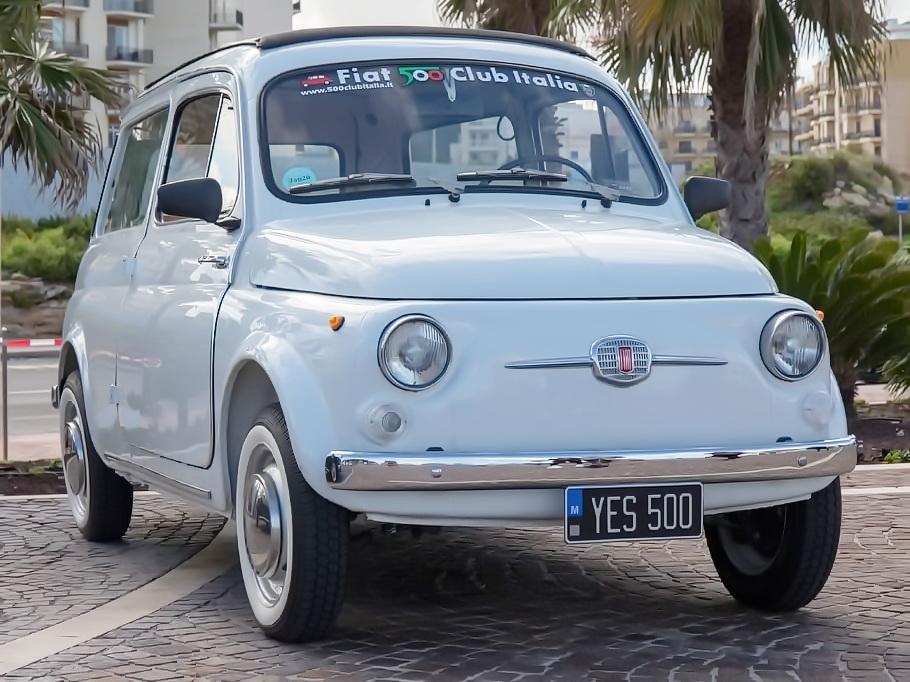 Un clásico entre los clásicos Fiat 500