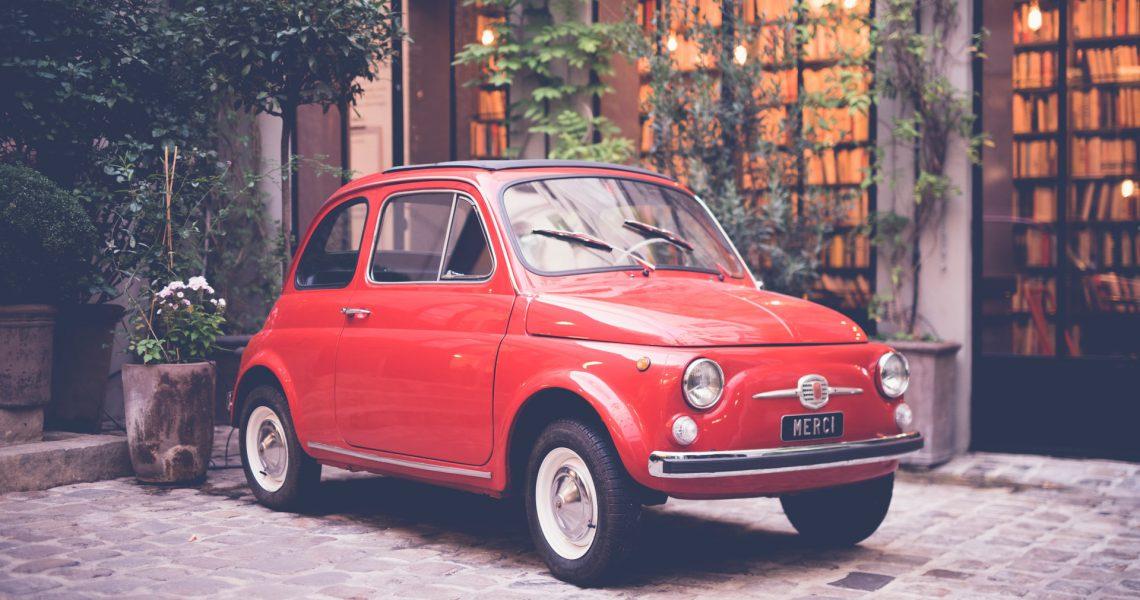 historia del Fiat 500 coche clásico