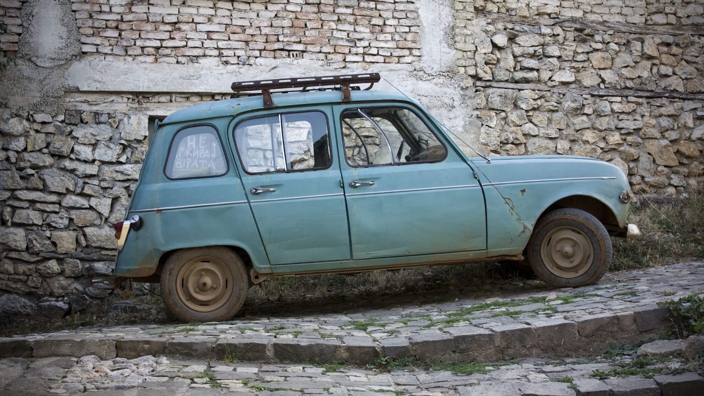 El clásico Renault 4