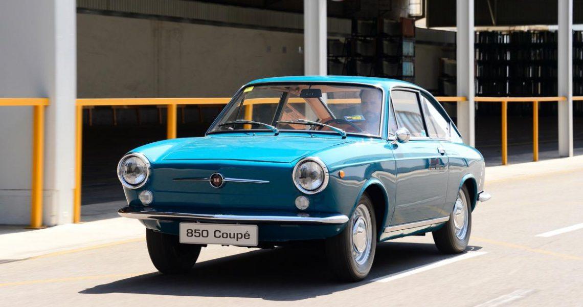 seat 850 coupe primer deportivo de SEAT