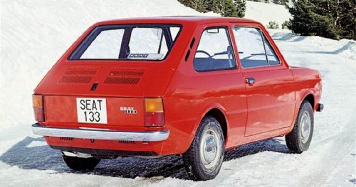 Historia del SEAT 133