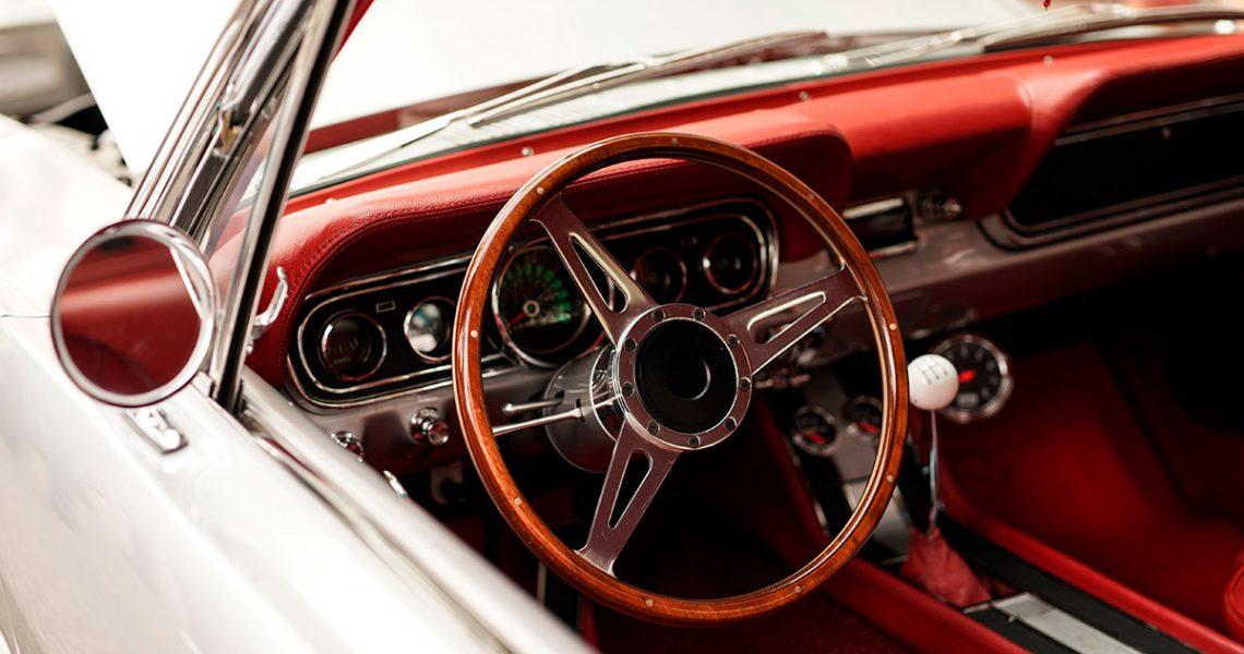 coche clásico de carreras
