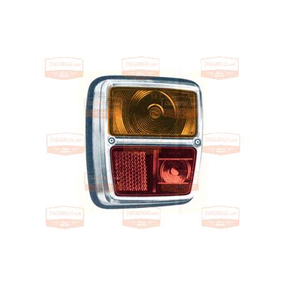 Recambios outlet - Indicador posterior izdo. marco metalizado talbot ...